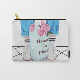 _Beauty in Plastic Bag Carry-All Pouch