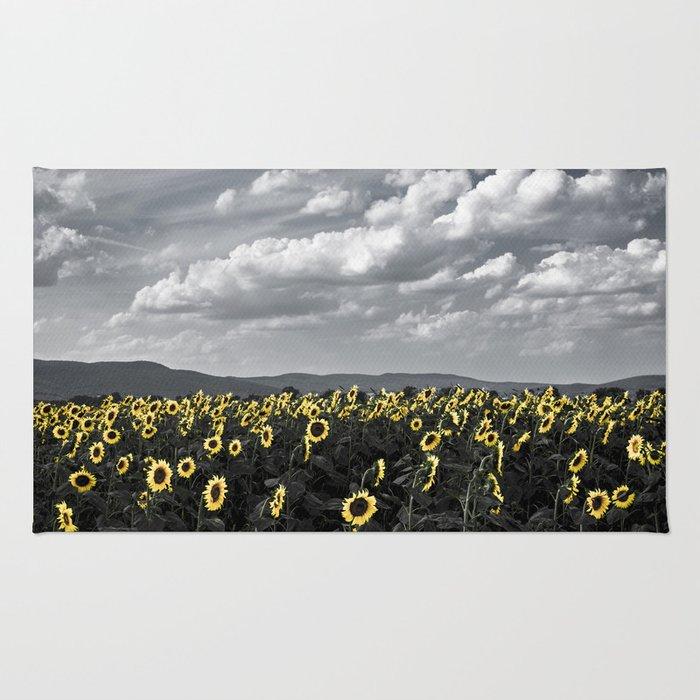 Sunflowers of Tuscany Rug