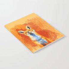 Happy Fox Notebook