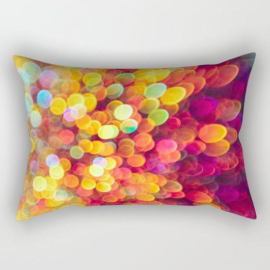 Light and Shimmer Rectangular Pillow
