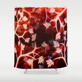 Blood Sky Shower Curtain