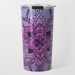 Mandala - Series 1 - Indigo Travel Mug