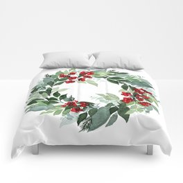 Holly Berry Comforters