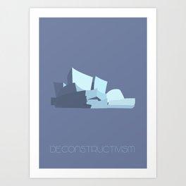 Deconstructivism Art Print