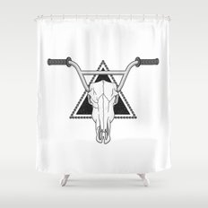 Ride Forever Shower Curtain