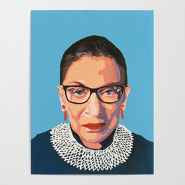 stone cold RBG Poster