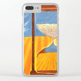 Seedtime and harvest Clear iPhone Case