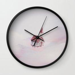 Heavenly Flight Wall Clock