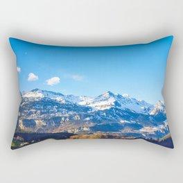 The Mountain Awaits Rectangular Pillow