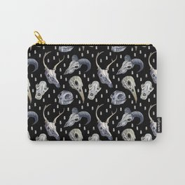 Animal Skulls Pattern Carry-All Pouch