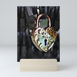 Where's the Key to Love? Mini Art Print
