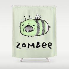 Zombee Shower Curtain