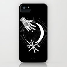 Waxing Crescent iPhone SE Slim Case