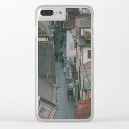 Zurich Alley Up Clear iPhone Case