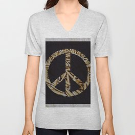 War & Peace Unisex V-Neck