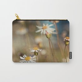 Wild flower - Botanical Photography Carry-All Pouch