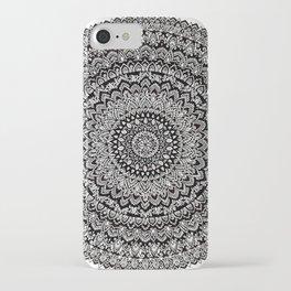 BULLSEYE No. 1 Mandala Drawing iPhone Case