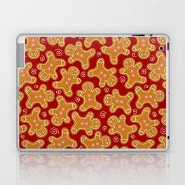 Festive Gingerbread Men Laptop & iPad Skin