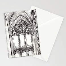 jumping the transition Stationery Cards
