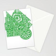 little green men Stationery Cards