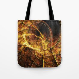Fall Leaf Textures Tote Bag