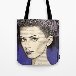 Purple Life Tote Bag