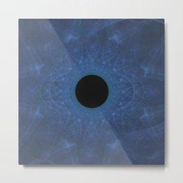 Eye of the Blue Dragon Metal Print