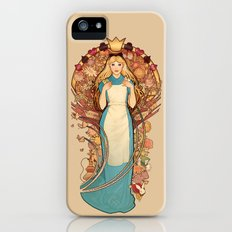 Curious and Curiouser iPhone (5, 5s) Slim Case