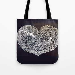 Ancient figures Tote Bag