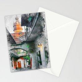 Cracow art 13 Kazimierz #cracow #krakow #city Stationery Cards