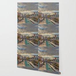 Foot Bridge at Gas Street Basin Wallpaper
