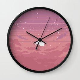 Moonburst Wall Clock