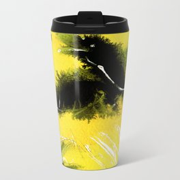 Totem Raven on the air Metal Travel Mug