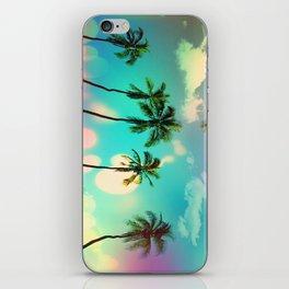 Palm trees iPhone Skin