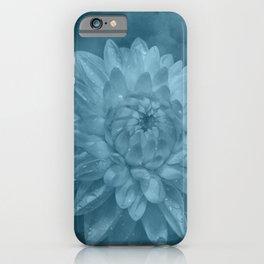 Grunge Flower texture iPhone Case
