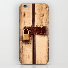 The Lock iPhone Skin