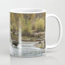 Moose Mid-Stream - Grand Tetons Coffee Mug