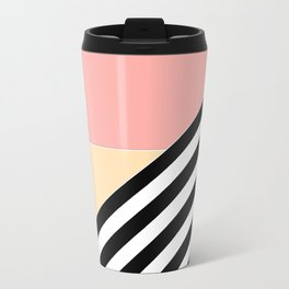 Quilt , patchwork Metal Travel Mug