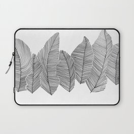 drawn feathers Laptop Sleeve