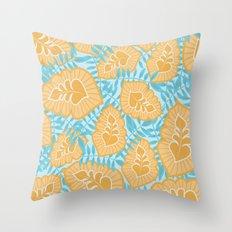 Sunny Tropics 2 Throw Pillow