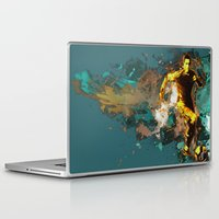 football Laptop & iPad Skins featuring Football by Frauste