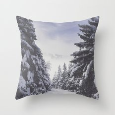 It's gonna clear up Throw Pillow