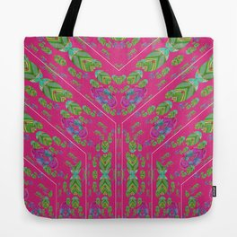 Infinities of Love in Abstract Pink Tote Bag