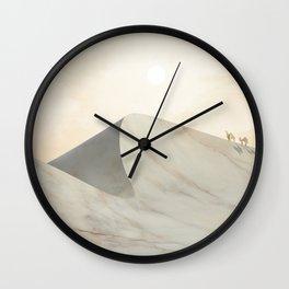 Marble Landscape V Wall Clock