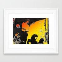 velvet underground Framed Art Prints featuring Velvet Underground by Matt Pecson