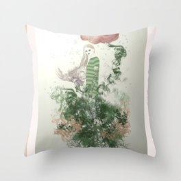 Muse of Ents Throw Pillow