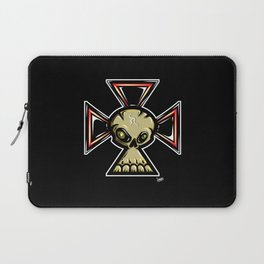 Skull Cross Laptop Sleeve