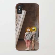 Remember History Slim Case iPhone X