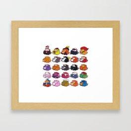 Famous Cats Framed Art Print
