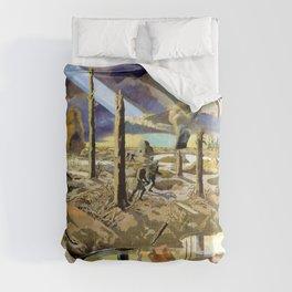 Paul Nash - The Menin Road - Digital Remastered Edition Comforters